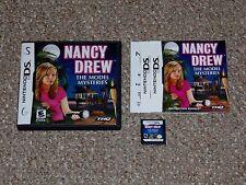 Nancy Drew: The Model Mysteries Nintendo DS Complete