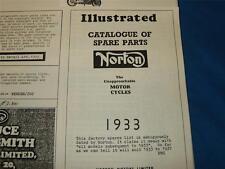 Copied 1933 Catalogue of Spare Parts for Norton ('33-'37)              30