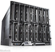 Dell PowerEdge M1000E châssis + 16 x M610 serveurs lame 32 x six-core XEON 768GB