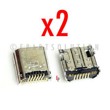2X Samsung Galaxy Tab 3 Kids SM-T2105 Charger Charging Port Dock Connector USA