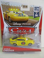 Disney PIXAR Cars PISTON CUP - CHARLIE CHECKER Car - Ages 3 & up