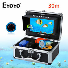 "Eyoyo 30m 7"" Infrared Underwater Fishing Camera Sea Fish Finder w/Free Sunvisor"