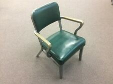 Steelcase Vintage Office Armchair Classic Green Retro Chair
