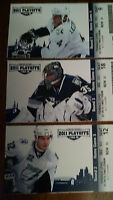 LIGHTNING TICKET STUBS FROM 2011 STANLEY CUP PLAYOFFS