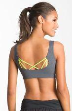 Karma Evely Sports Bra  Scoop Neck Strappy GREY size XS (0 - 2) Yoga/Studio