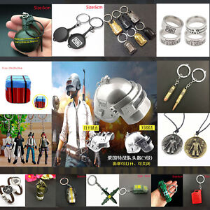 PUBG Playerunknowns Battlegrounds Gun Weapon Model Keychain Key Ring Toy Gift
