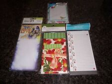 Bundle of (4) Notepads or To-do Lists includes Connie Haley's Good Dog