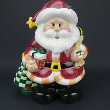 Santa Claus Christmas Cookie Jar Houston Harvest Gift Products