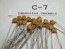 Capacitor Ceramic RMC, 7.5 pF, 1 KV, NPO  5%, Lot of 20 (NOS)C7