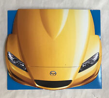Mazda RX-8 rotary shaped CD-ROM 2003 brochure, NEW and RARE