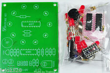 Electronic Roulette 10 DOT RED LED [ unassembled project kit ] for student