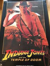 INDIANA JONES AND THE TEMPLE OF DOOM POSTER HARRISON FORD