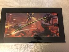 2019 SDCC Blizzard Blade and Barrage Fine Art Print Arnold Tsang /250