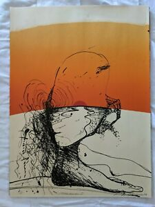 NATHAN OLIVEIRA Signed Numbered 1969 Original Lithograph  Miramar I - Provenance