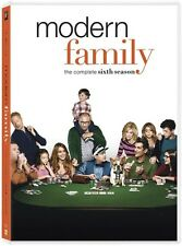 Modern Family: Season 6 - 3 DISC SET (2015, DVD New)