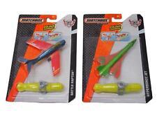 Matchbox Sky Busters Colour Changer Planes x 2 Jet & Battle Raptor