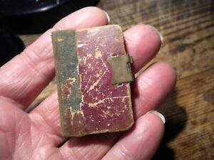 RARE-CIRCA-1840--SEWING NEEDLE CASE