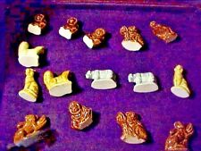 Lot Of 17 Wade Animal Figurines, Different Animals, Differemt Colors. Nice