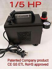 1/5 HP Mini Air Compressor for Spray Gun Air Brush