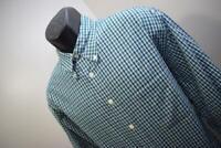 Mens Brooks Brothers 346 Plaid Long Sleeve Dress Shirt Size Large