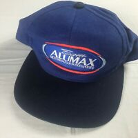 Team Alumax Snapback Hat VTG Cap Bettenhausen Motorsports USA Made Adult Blue
