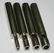 BROCAS PARA PORCELANICO Y CRISTAL 4 unidades de 8-10mm + kit Guia-Refrigeracion