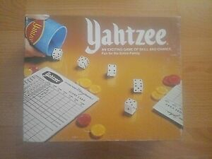 Vintage Yahtzee Game - 1975 John Sands - 100 % Complete