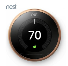 Nest 3rd Generation T3021US Learning Copper Programmable Thermostat