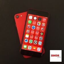 CUSTOM Apple iPhone 7 Red W/ Black Logo and Screen 32GB (T-Mobile) LOCKED