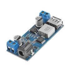 DC-DC 24V 12V to 5V 5A Step Down Power Supply Buck Converter USB Charging Module