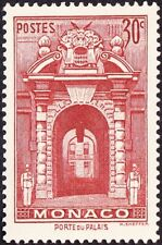Monaco - 1940 - 30 Cents Brown Red Palace Gate Issue # 162A Mint with Gum F-VF