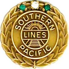 Southern Pacific  35 year service pin, price is for one item