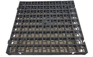 16 xDRAVEWAY PVC Grass Grid Paver Base Greenhouse Deck Path Turf Lawn Shed Garde