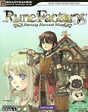 Rune Factory : A Fantasy Harvest Moon by Alicia Ashby and Elizabeth Ellis (2007,