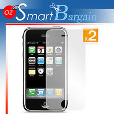 2 x ANTI GLARE MATTE SCREEN GUARD PROTECTOR iPhone 3GS