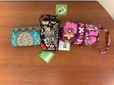 Vera Bradley 3 all in one wristlet, crossbody and wallet