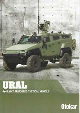 OTOKAR URAL 4x4 2015 TURKISH ARMY MILITARY BROCHURE PROSPEKT FOLDER