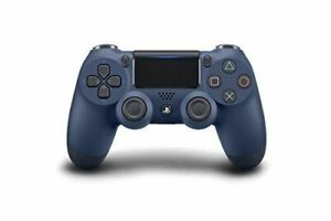 Official PlayStation 4 Dualshock 4 Midnight Blue Version 2 Controller (PS4) NEW