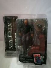 MCFARLANE THE MATRIX RELOADED - MORPHEUS SERIES TWO FIGURE RARE SEALED