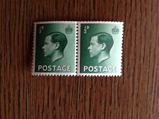 Great Britain King Edaward V111. 1/2d Pair Lightly Mounted Mint