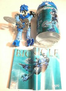 Lego 8570 Bionicle Toa Nuva Gali Nuva (100% Complete With Canister & Manual)