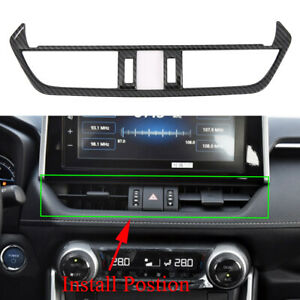 For Toyota RAV4 2019 2020 Air Conditioning Vent Outlet AC Cover Trim Accessories