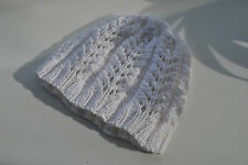 Handmade seamless lacy hat 6-18 month old child