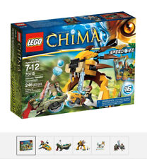 LEGO Chima Ultimate Speedorz Tournament  #70115 incl. Laval & Cragger - New