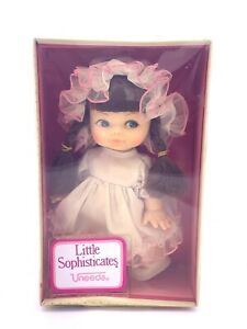 "Super Rare Vintage UNEEDA Little SOPHISTICATES 8.5"" Doll's New In Box"