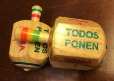 Beautiful TomaTodo Pirinola de Madera Classic WoodenTMexican Toy-Spinning Top