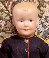 """C1910 10"""" Antique German Hard to Find 500 Mold AM Closed Mouth AM Character Doll"""