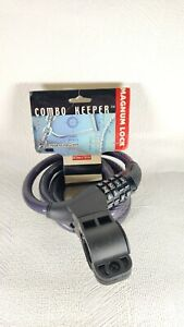 Combo Keeper Magnum Bike Cable Combination Lock