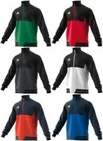 Adidas Mens Tiro 17 Training Jacket Jumper Sports Sweatshirt Tracksuit  Track Top ecdd38c5f