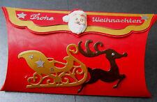 1 Geschenkverpackung Weihnachten Schachtel Frohe Weihnachten Handarbeit